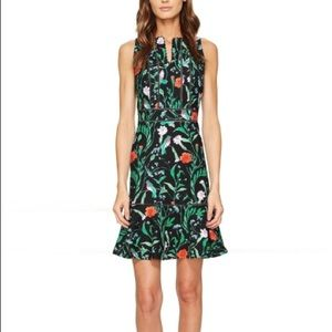 Kate Spade Jardín Tile Jacquard Dress